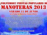 [Sábado 15 de junio] Fiestas populares de Manoteras (segundointento)