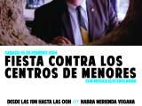 [Sábado 15 de febrero] Fiesta contra los centros demenores