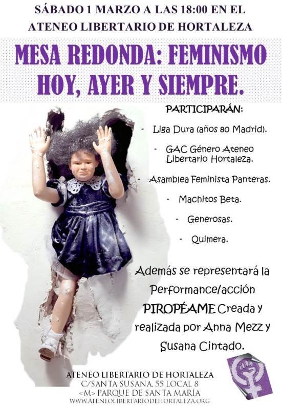 cartel jornadas feminismo