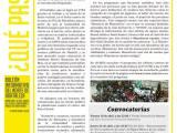 ¿Qué pasa? Abril – Boletín informativo del norte deHortaleza.