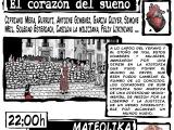 Viernes 3 de octubre, tarde de debate y música. Presentación del cómic: El Corazon del Sueño y actuación musical deMateolika