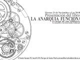 [Viernes 21 de Noviembre] Presentación del libro: La anarquíafunciona