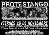 [Viernes 28 de Noviembre] Actuación de PROTESTANGO : monólogos rapeados desde BuenosAires.