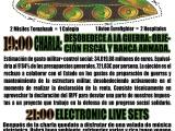 [Sabado 28 de Febrero] Desobedece a la guerra: objeción fiscal y banca armada. + electronic live sets I.S.A YRUSTUF